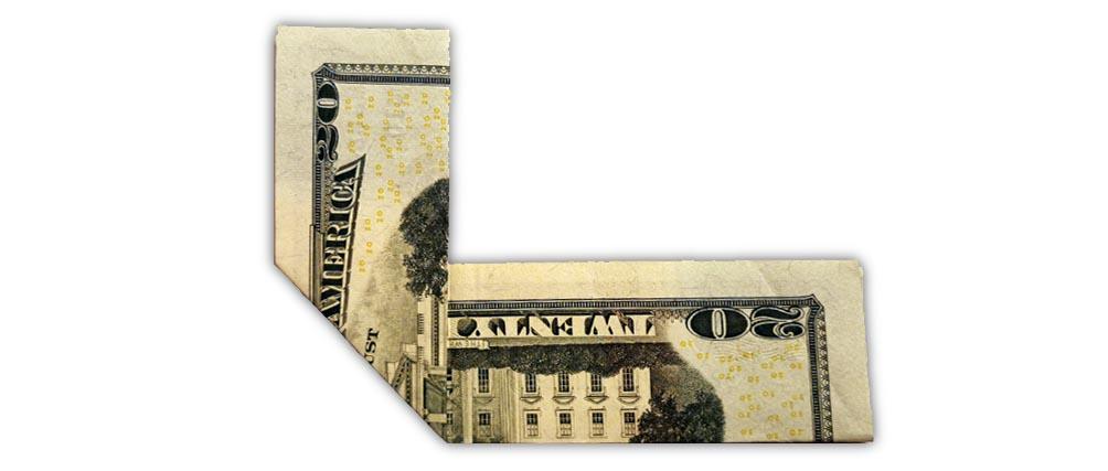 20 Dollar 911 Second Fold