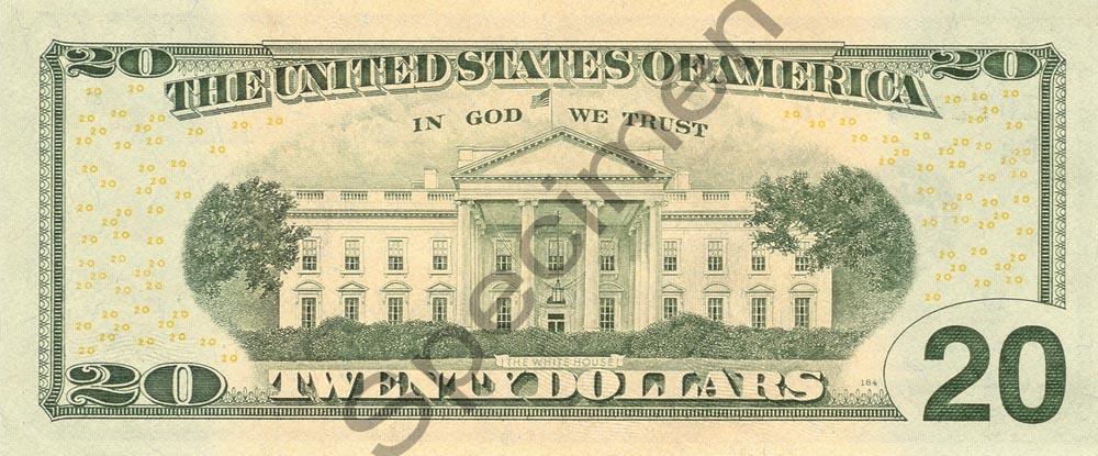 20 Dollar Bill 2006 Version