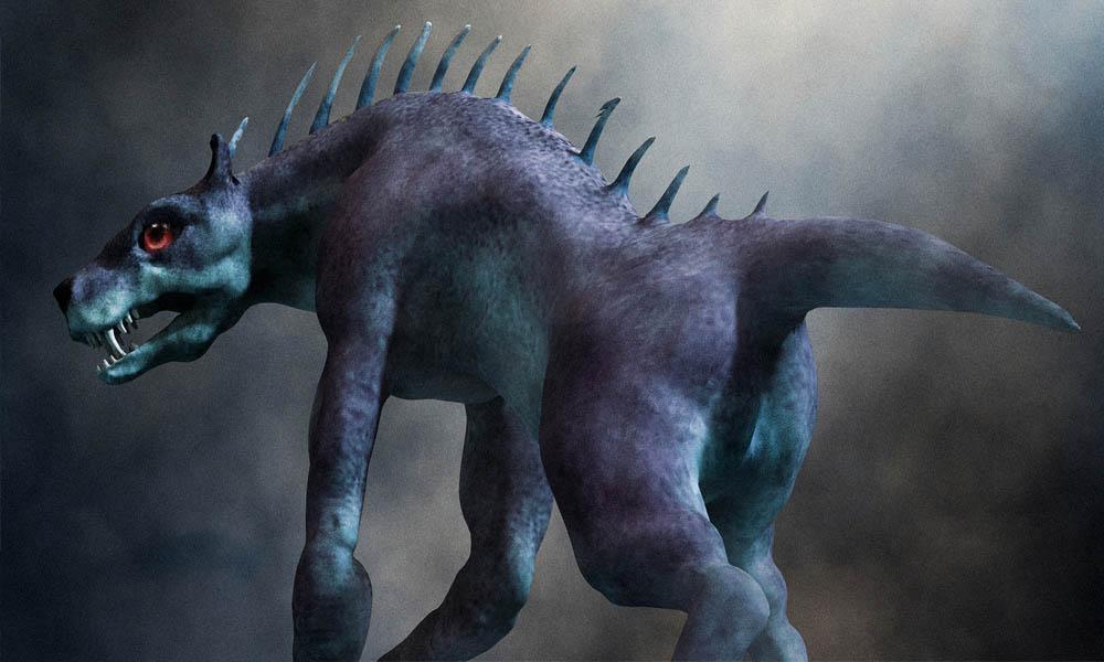 Chupacabra Legend Monster