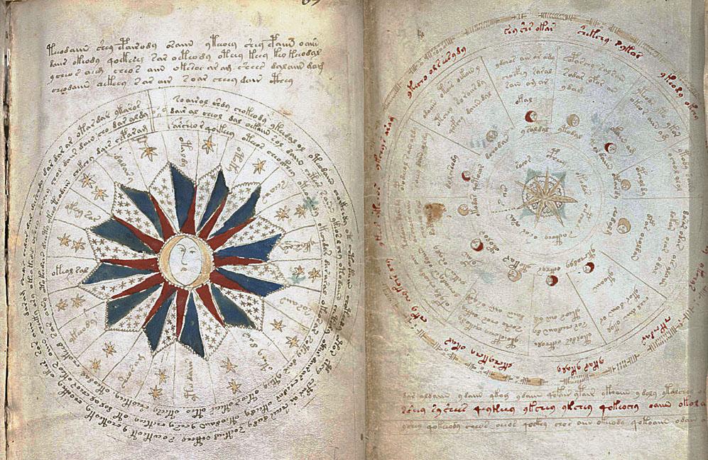 Voynich Manuscript Pages