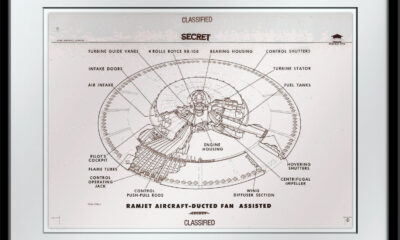 Most Mysterious Avro Flying Saucer